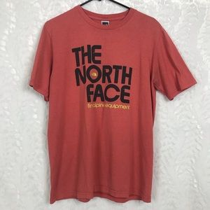 The North Face alpine equipment orange tee t-shirt